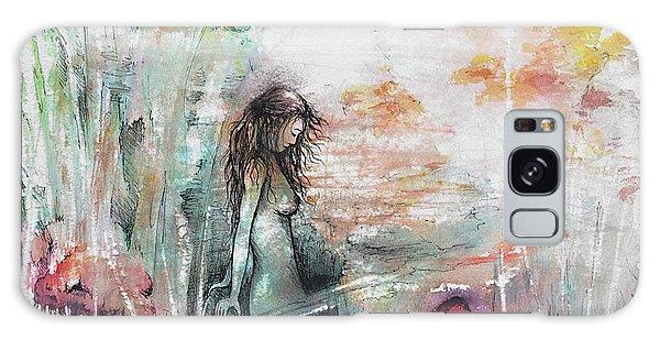 Galaxy Case - Little Sparrow Lost by Rachel Christine Nowicki