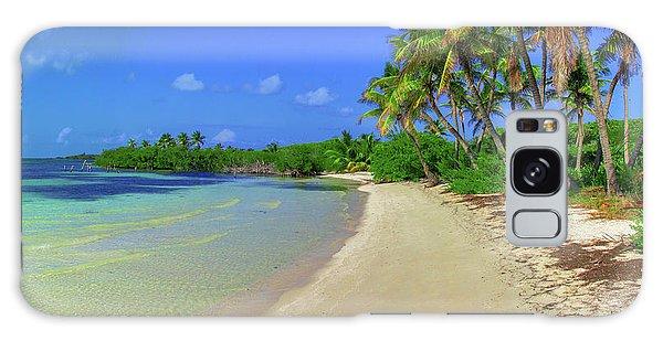 Living On An Island Galaxy Case