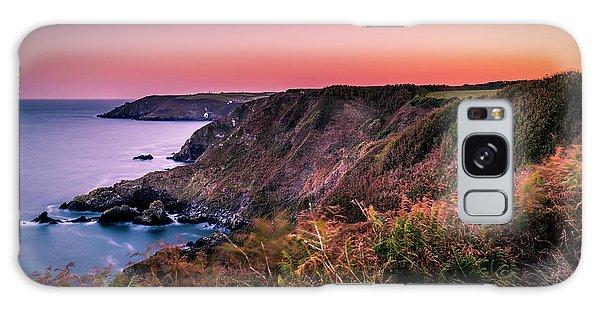 Lizard Point Sunset - Cornwall Galaxy Case