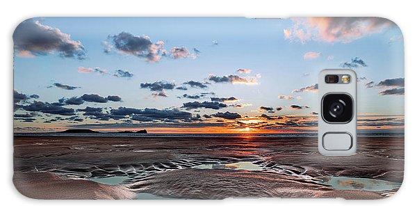 Llangennith Beach Galaxy Case