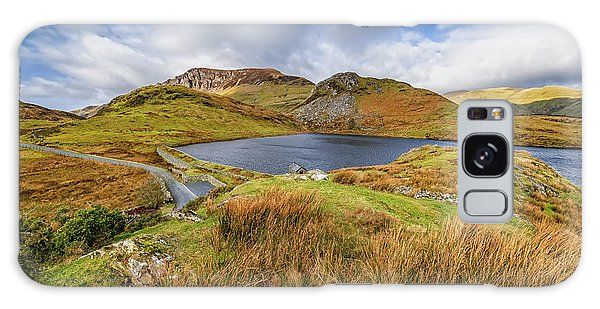 Galaxy Case - Llyn Y Dywarchen And Boathouse Snowdonia by Adrian Evans