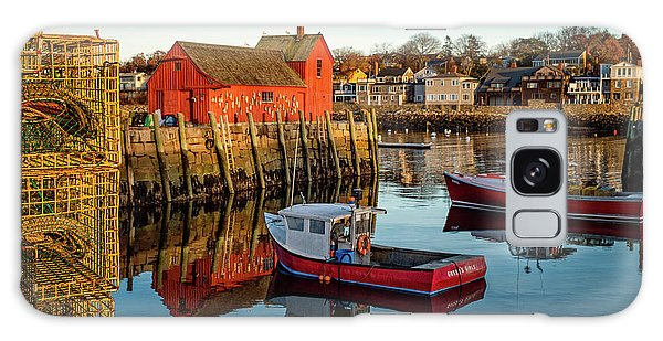 Lobster Traps, Lobster Boats, And Motif #1 Galaxy Case