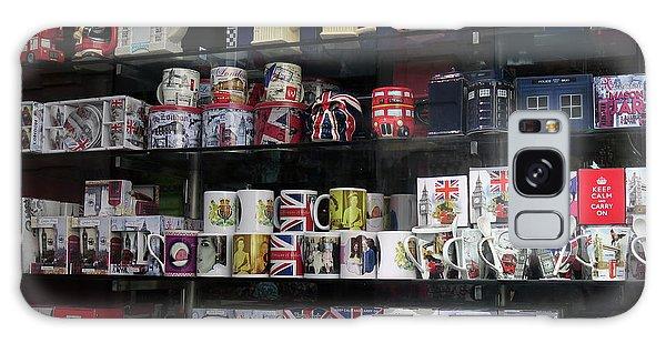 London England Shop Window Galaxy Case