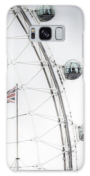 London Eye And Union Jack Galaxy Case