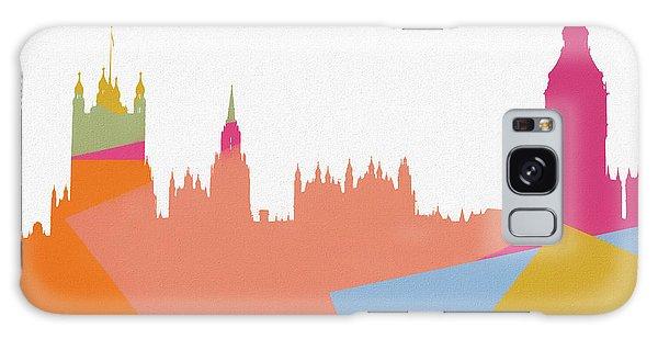 Traveler Galaxy Case - London Pop Art Skyline by Dan Sproul