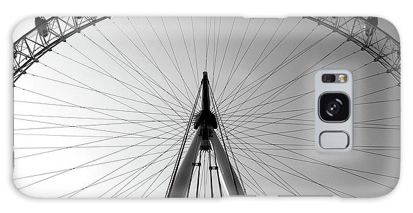 Galaxy Case featuring the photograph London_eye_i by Mark Shoolery