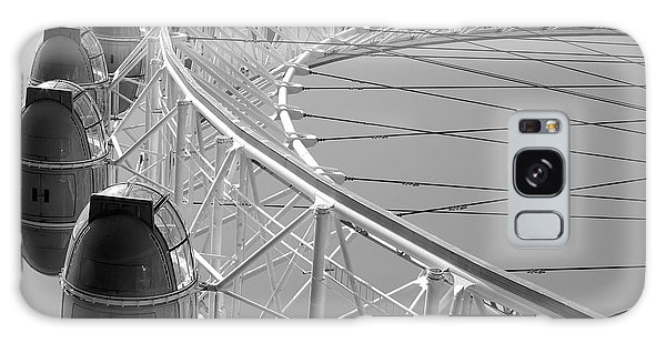 Galaxy Case featuring the photograph London_eye_ii by Mark Shoolery