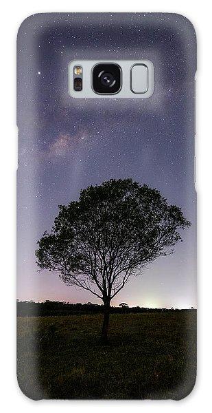 Astro Galaxy Case - Lone Tree by Damian McCudden