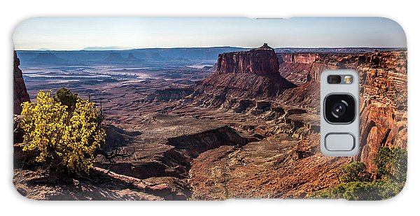 Galaxy Case featuring the photograph Lonely Butte by David Morefield