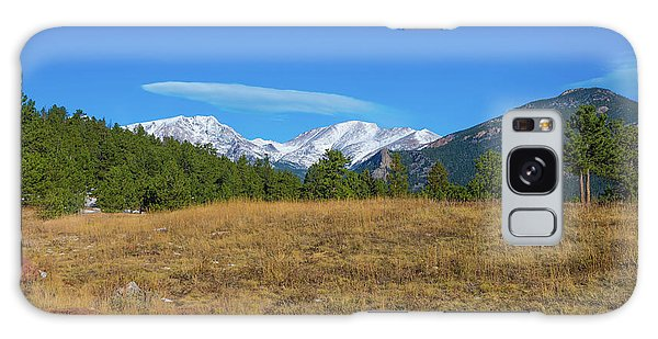 Longs Peak From Upper Beaver Meadows Galaxy Case
