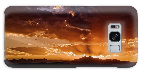 Longs Peak Sunset Galaxy Case