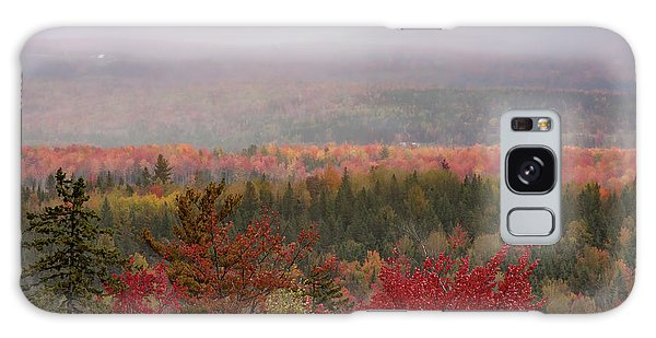 Looking Across Autumn Hills Galaxy Case