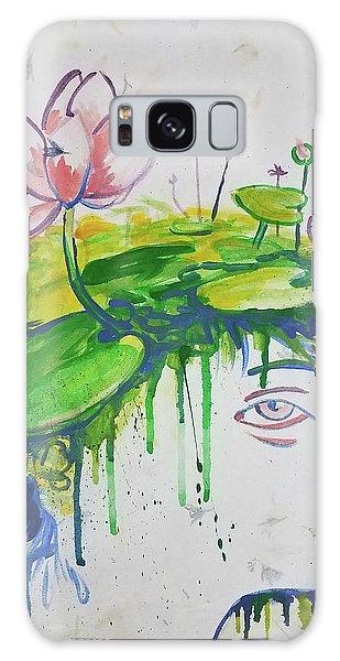 Lotus Head Galaxy Case