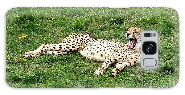 Lounging Cheetah Galaxy Case