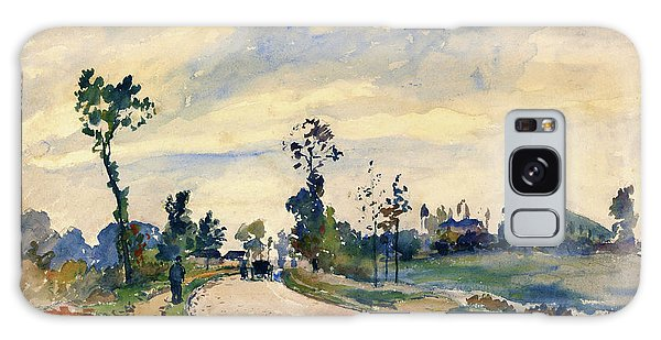 Country Living Galaxy Case - Louveciennes, Road Of Saint-germain - Digital Remastered Edition by Camille Pissarro
