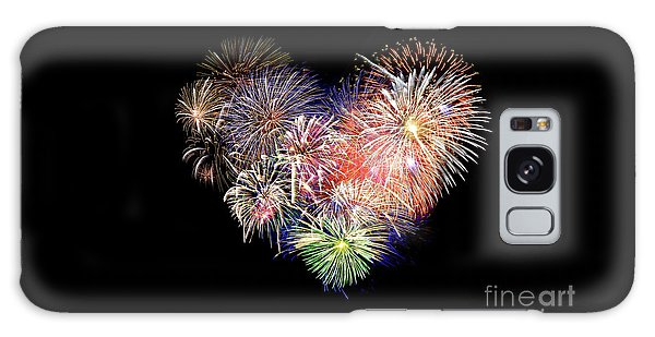 Fireworks Galaxy Case - Love Fireworks by Delphimages Photo Creations