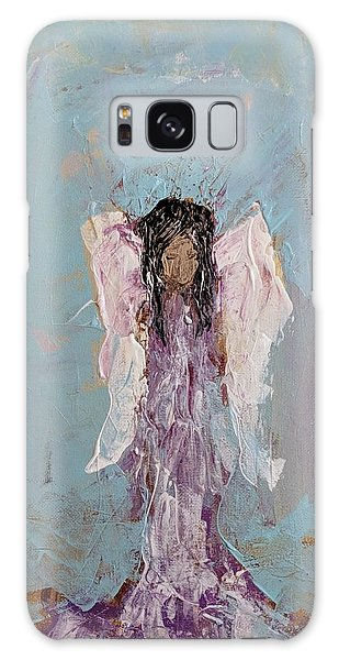 Lovely Angel  Galaxy Case