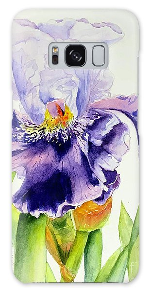 Lovely Iris Galaxy Case