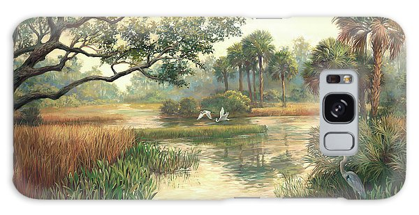 Old Florida Galaxy Case - Low Country Morning by Laurie Snow Hein