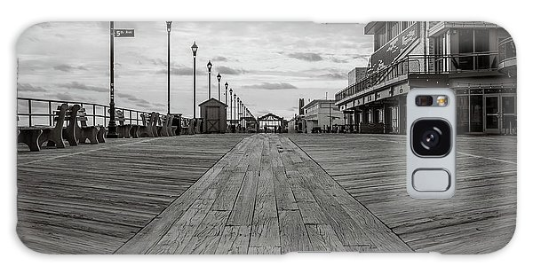 Galaxy Case featuring the photograph Low On The Boardwalk by Steve Stanger