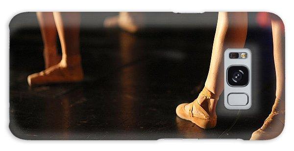 Ballerina Galaxy Case - Low Section Of Graceful Ballet Dancers by Anna Jurkovska