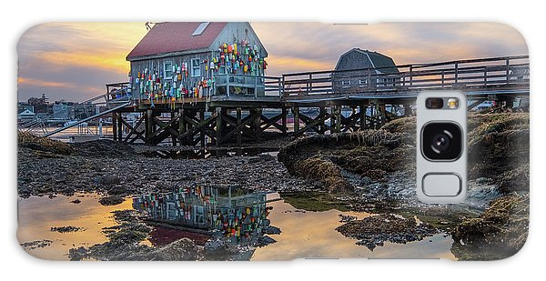 Low Tide Reflections, Badgers Island.  Galaxy Case