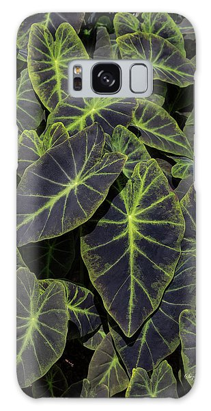 Galaxy Case - Luchious Leaves by Suzanne Gaff