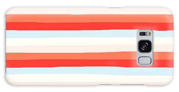 lumpy or bumpy lines abstract and colorful - QAB266 Galaxy Case