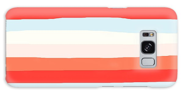 lumpy or bumpy lines abstract and colorful - QAB268 Galaxy Case