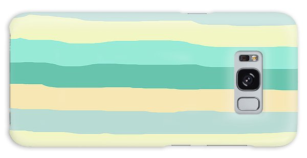 lumpy or bumpy lines abstract and summer colorful - QAB271 Galaxy Case