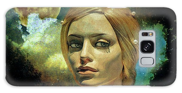 The Sky Galaxy Case - Luna In The Garden Of Evil by Chuck Staley