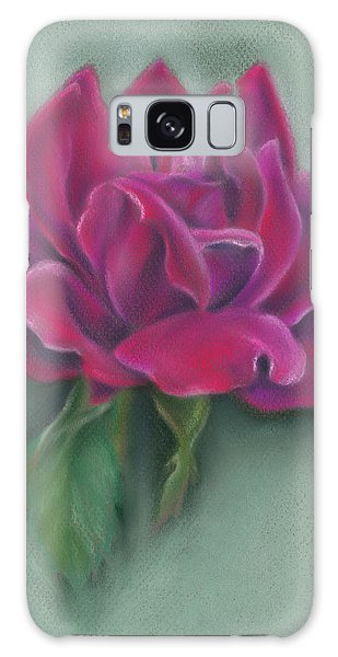 Lush Red Rose Galaxy Case