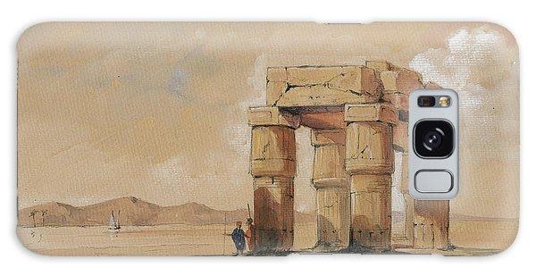 Egypt Galaxy Case - Luxor Temple by Juan Bosco