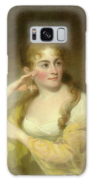 Portrait Of Lydia Leaming, 1806 Galaxy Case