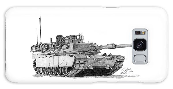 M1a1 B Company Commander Tank Galaxy Case