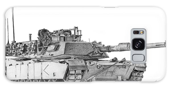M1a1 D Company Commander Tank Galaxy Case
