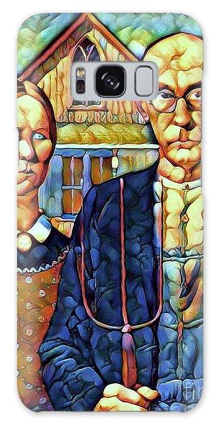 Art Institute Galaxy Case - Ma And Pa  by Breena Briggeman
