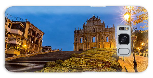 Dusk Galaxy Case - Macau Ruins Of St. Pauls. Built From by Vichie81