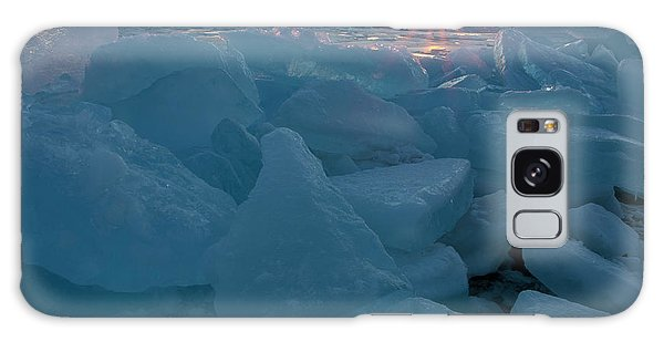 Mackinaw City Ice Formations 21618014 Galaxy Case