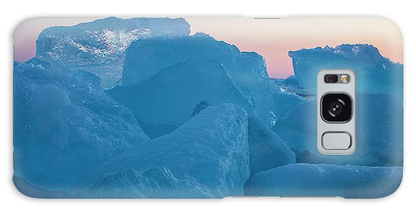 Mackinaw City Ice Formations 2161804 Galaxy Case