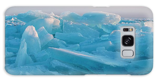 Mackinaw City Ice Formations 2161807 Galaxy Case