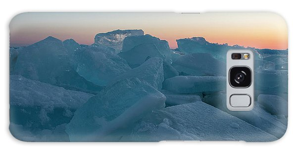 Mackinaw City Ice Formations 2161808 Galaxy Case