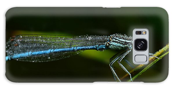 No People Galaxy Case - Macro Photography Dragonfly by Igor Chus