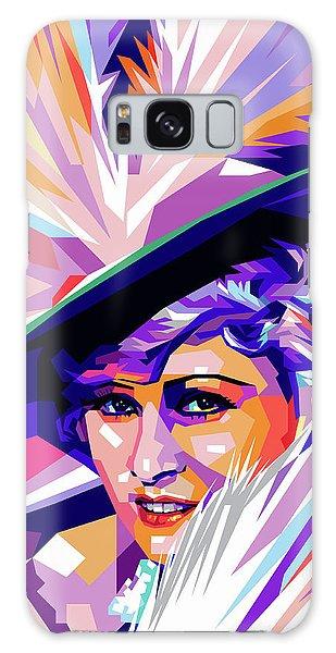 Mae West Pop Art Galaxy Case