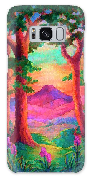 Magenta Morning Galaxy Case
