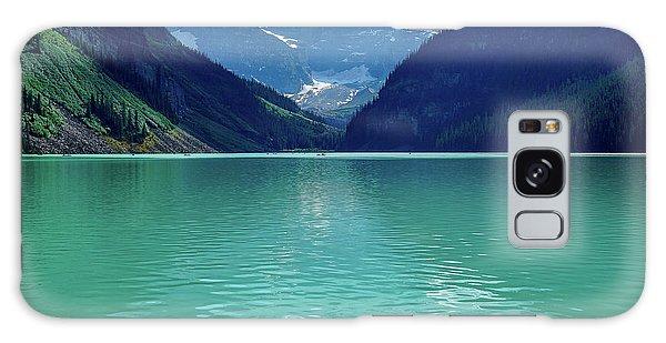 Magic At Lake Louise Galaxy Case