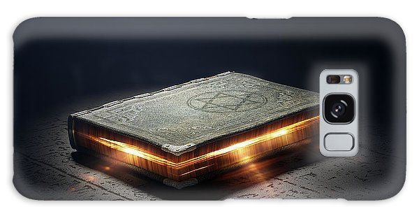 Myth Galaxy Case - Magic Book With Super Powers - 3d by Johan Swanepoel