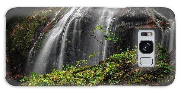 Magical Mystical Mossy Waterfall Galaxy Case