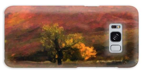 Galaxy Case featuring the painting Magnificent Autumn Colors by Gerlinde Keating - Galleria GK Keating Associates Inc