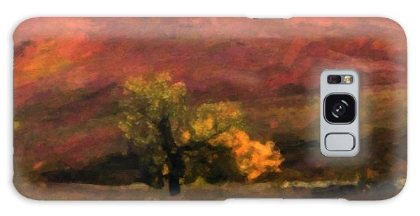 Magnificent Autumn Colors Galaxy Case